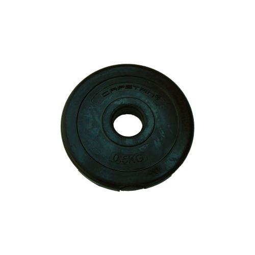 Capetan® | Vinyl tárcsasúly (0,5 kg) - cementes súlytárcsa