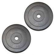Capetan® 2,5Kg Vinyl tárcsasúly - 2,5kg cementes súlytárcsa (1db)