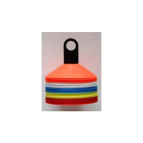 Capetan® | 50 db-os jelzőboja szett tartóoszloppal, 5 színű bojával