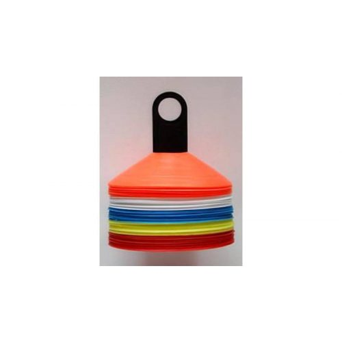 Capetan®   50 db-os jelzőboja szett tartóoszloppal, 5 színű bojával