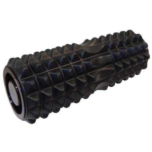 Capetan® Premium Plus | SMR henger (13x33 cm) - masszázshenger  kemény felülettel, lezáró dugókkal