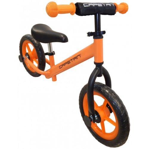 """Capetan® Energy   Futóbicikli, 12"""" kerekű pedál nélküli gyerekbicikli (narancs színben)"""