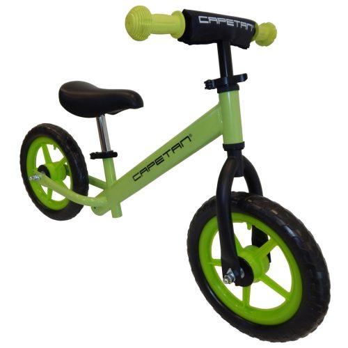 """Capetan® Energy   Futóbicikli, 12"""" kerekű pedál nélküli gyerekbicikli (zöld színben)"""