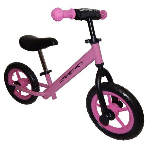 """Capetan® Energy   Futóbicikli, 12"""" kerekű pedál nélküli gyerekbicikli (pink színben)"""