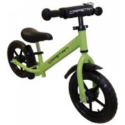 """Capetan® Energy Plus    Futóbicikli, 12"""" kerekű pedál nélküli gyerekbicikli  sárhányóval és csengővel (zöld színben)"""