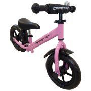 """Capetan® Energy Plus    Futóbicikli, 12"""" kerekű pedál nélküli gyerekbicikli sárhányóval és csengővel  (pink színben)"""