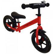 """Capetan® Energy Plus    Futóbicikli, 12"""" kerekű pedál nélküli gyerekbicikli sárhányóval és csengővel  (piros színben)"""