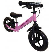 """Capetan® Neptun   Futóbicikli, 12"""" kerekű pedál nélküli bicikli gyerekeknek sárhányóval és csengővel (rózsaszín színben)"""
