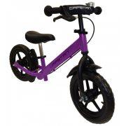 """Capetan® Neptun   Futóbicikli, 12"""" kerekű pedál nélküli bicikli gyerekeknek sárhányóval és csengővel (lila színben)"""