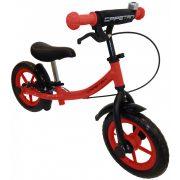 """Capetan® Sirius Premium Line   Futóbicikli, 12"""" kerekű, fékkel ellátott pedál nélküli gyerekbicikli sárhányóval és csengővel (piros színben)"""