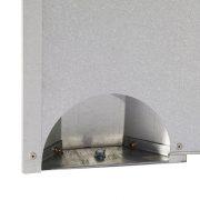 Cornilleau Pro 510 Mat Top | Kültéri pingpong asztal, közösségi asztalitenisz (szürke színben)