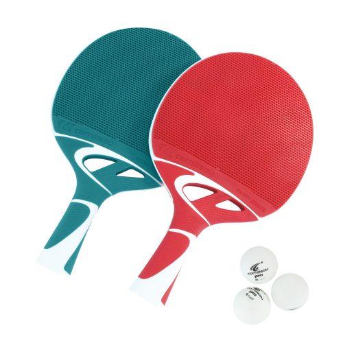 Cornilleau Tacteo Duo Pack | Kültéri pingpongütő szett (kompozit) labdával