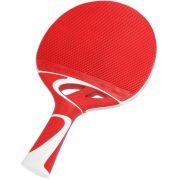 Cornilleau Tacteo 50 | Kültéri pingpong ütő ultra időjárásálló kivitelben (piros/fehér)
