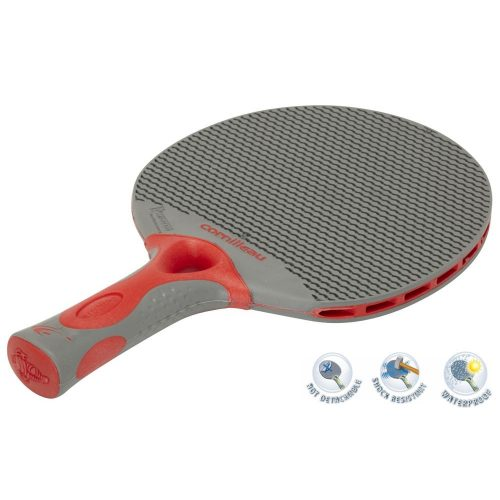 Cornilleau Tacteo 50 | Kültéri pingpong ütő (szürke/piros)