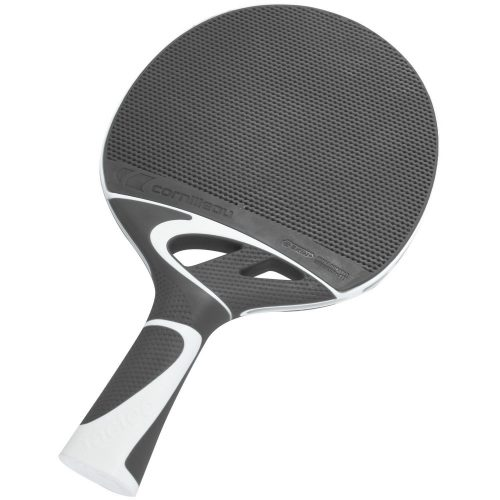Cornilleau Tacteo 50   Kültéri pingpong ütő ultra időjárásálló Skin+ (szürke/fehér)