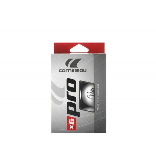 Cornilleau Pro White | Pingpong labda szett (6 db) (fehér színben)
