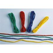 Ritmikus gimnasztika gyakorló kötél szett 4db 2,5m-es kötél vegyes szín