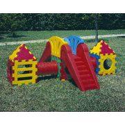 Cubic I 2000 játszórendszer, mászóvár csúszdával