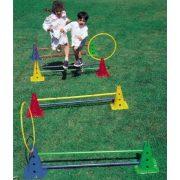 Tactic Sport Aktív játék Saltarello Mini mozgásfejlesztő eszközpark 30 cm magas kerekaljú bójákkal