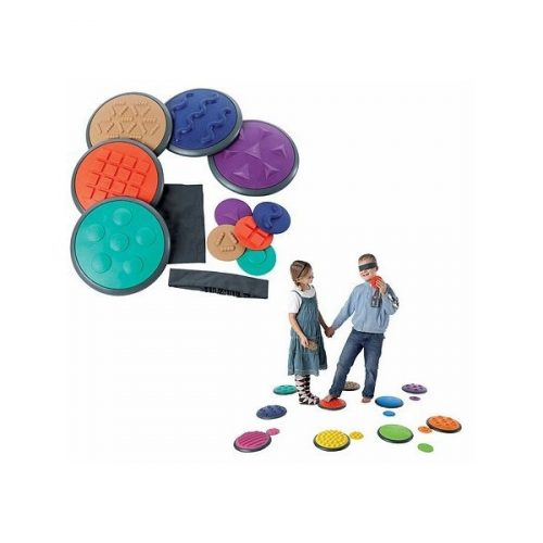 Gonge Érzékelő korongok 5+5 darabos szett, lépegető kő és tapintás érzékelő A készlet
