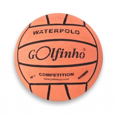 Golfinho Competition Fluo | Fluoreszkáló vízilabda (női és junior versenylabda, No.4., fluoreszkáló narancs színben))