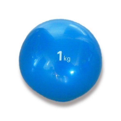 Tactic Sport   Medicinlabda szoft tapintással (1 kg, puha, gumi medicinlabda)