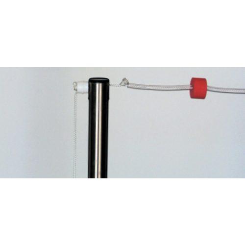 Hátúszó kötél szett zászlókkal , tartó oszlopokkal (2x25 m) hátúszás jelzősor