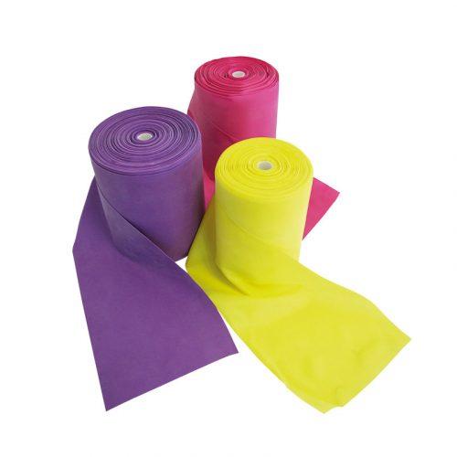 Gumi tornaszalag tekercs (25mx15 cm közepes erősség, pink színben) vízben is használható