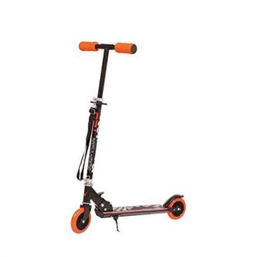 Nextreme Raptor Rally kick 120 mm kerekű roller, összecsukható, hordpántos aluroller, narancs szín kormány max. 86 cm