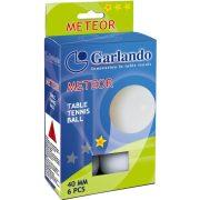 Garlando Meteor * pingpong labda 6db (szabadidős felhasználásra ajánlott ping-pong labda)