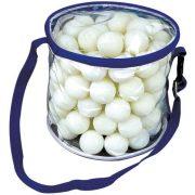 Garlando Meteor 100db * pingpong labda csomag szabadidős felhasználásra, iskolai edzések alkalmára