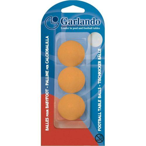 Garlando Standard 3dbfehér csocsó labda csomagolásban