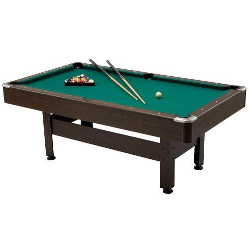 Garlando Virginia 7  billiard asztal, 225x125 cm, külön rendelhető fedlappal asztallá alakítható