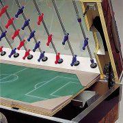 Garlando Olympic - Olimpia érmevizsgálós asztalifoci asztal teleszkópos rudazattal