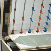 Garlando Olympic - Olympia Silver zsetonos asztalifoci asztal LED világítással