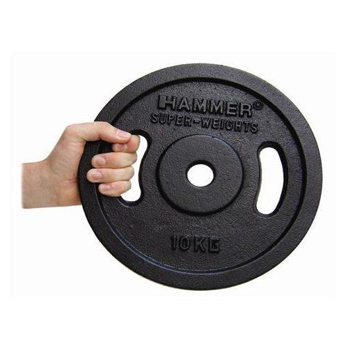 Fekete színű tárcsás súlyok (2 x 1,25 kg)
