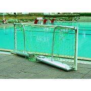 TacticSport   Verseny vízilabda kapu pár (szabadon úszó, behajtható hálótartóval)