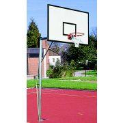 Kosárlabda állvány palánkkal és gyűrűvel