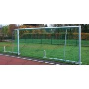 Junior focikapu pár (5x2 m-es elfordítható hálótartóval, alumínium, kompakt kivitel)