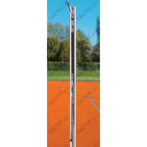 Röplabda hálótartó oszlopok profi, (80x80mm aluminium TÜV)