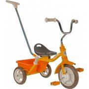 Transporter Passenger sárga szülő vezető karos és szülő fékes tricikli  - Road work