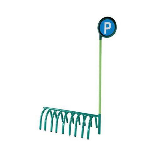 Járgány parkoló jelzőtáblával