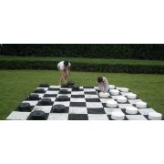 Capetan® | Kerti óriás dáma játék (Mondo modell 25x9 cm korong méret)