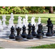 Capetan® Delimo | Kültéri sakk készlet (92 cm magas király bábuval)