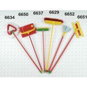 Takarító mop 17,5cm fejjel 65 cm nyéllel, KLEIN TOYS játék