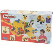 Technico Maxi 184 részes szett, csavarozható játék gyermekeknek 3 éves kortól
