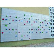 Falra is felszerelhető kialakítású mászófal 6 elemes