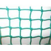 Védőháló (5x5 cm szembőségű kézicsomózótt, 5mm vastag időjárásálló PP anyagból)