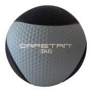 Capetan® Professional Line | Medicinlabda (3kg) (pattongós, vízen úszó gumi medicinlabda))