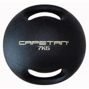 Capetan® Professional Line   Medicinlabda (7kg) (kétfogantyús - dual grip gumi, vízen úszó medicinlabda)